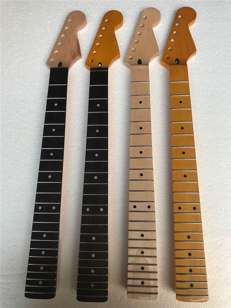 Fabrika özel elektrik gitar boynu 22 perde, 6 dize, boyut ve malzeme ile gereksinimlerinize göre özelleştirilebilir.