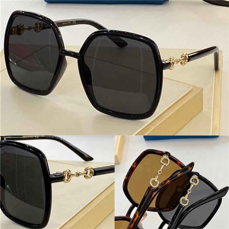 0890 New Fashion Sunglasses With UV Protection for men and Women Vintage square Frame popular Top Quality With Case classic 0890S sunglasses