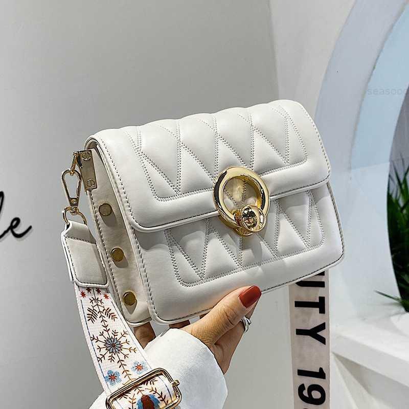 Yaz Kadınlar için Geniş Omuz 2020 Kemer Çantası Yeni Moda Kore Çok Yönlü Bir Messenger Moda Eğlence Küçük