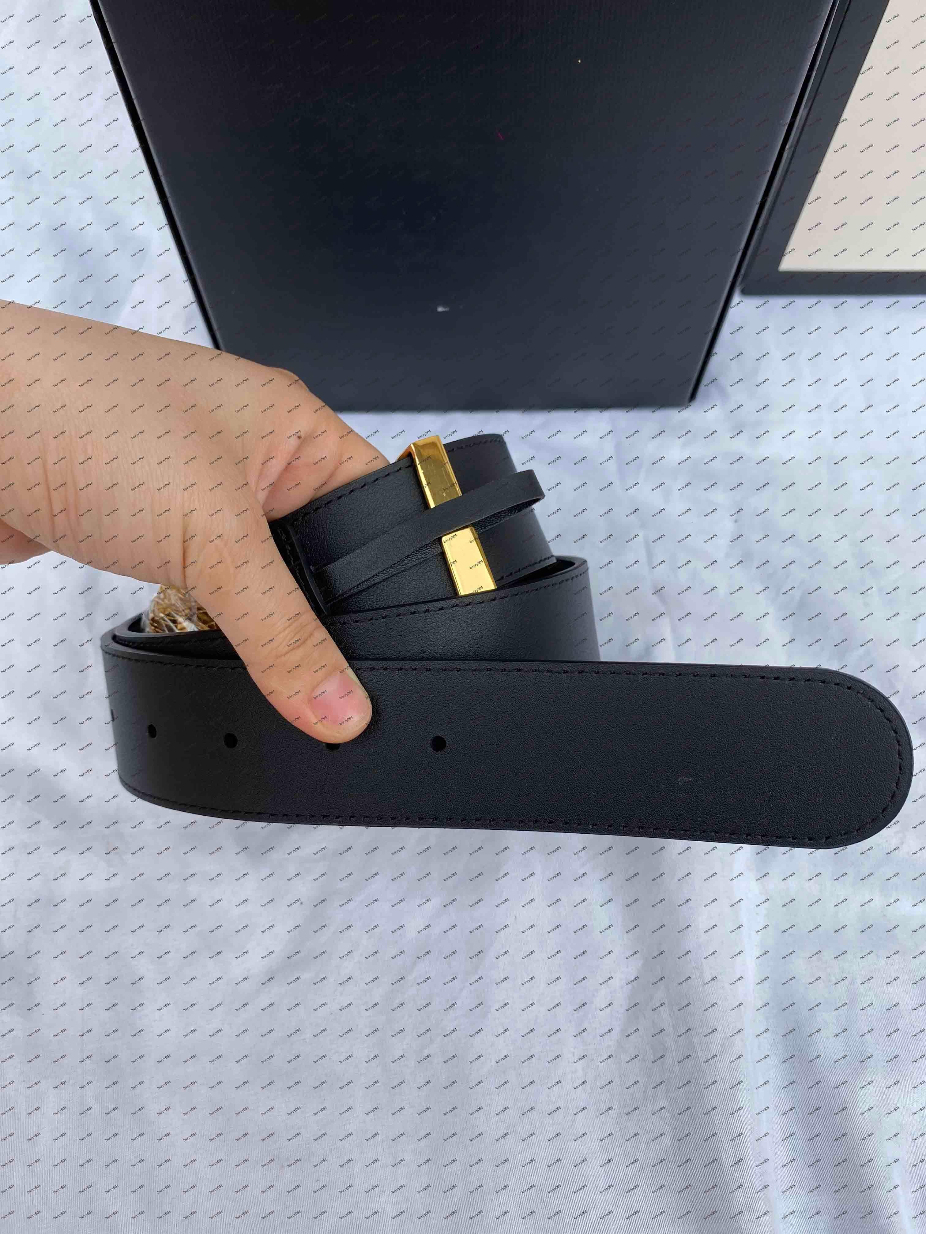 Klassische beste Qualität 4 Farbe Echtes Leder Damen Gürtel mit Rahmen Herrengürtel Frauen Gold Silber Schnalle Gürtel Freies Verschiffen 10