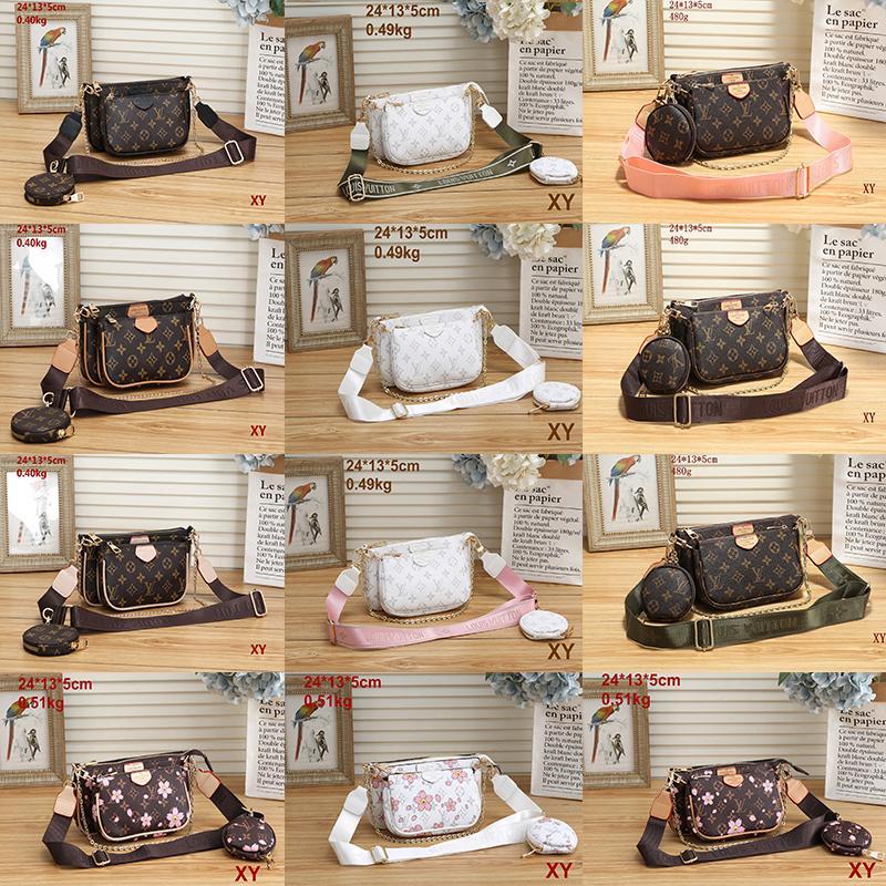 2021 Ausgezeichnete Qualitätsstil Mode Frauen Luxus Lady Pu-Leder Handtaschen Marke Taschen Geldbörse Schulter M Tote Bag Weibliche