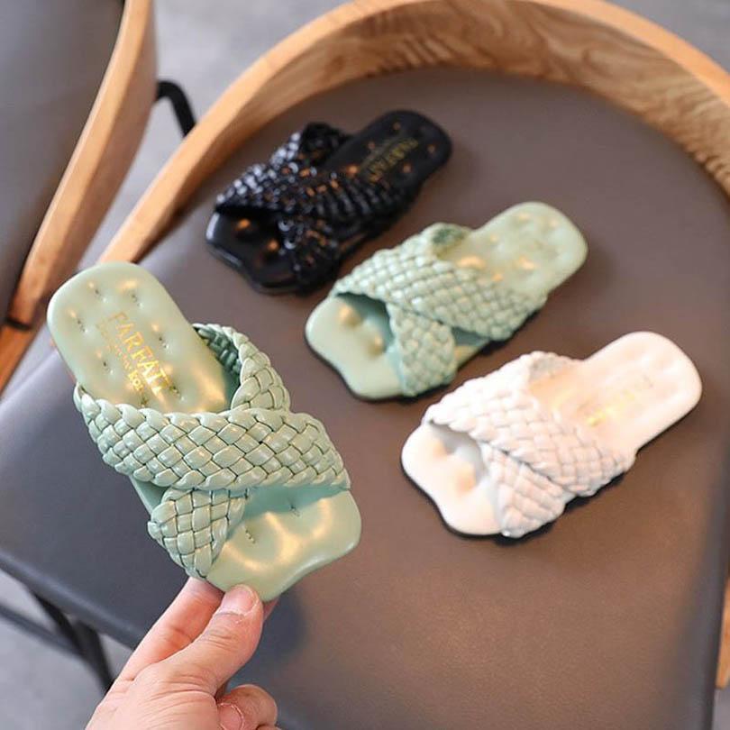 الفتيات النعال الاطفال أحذية الأطفال النعال الطفل الأحذية الربيع الصيف أزياء الشاطئ الصنادل B6678