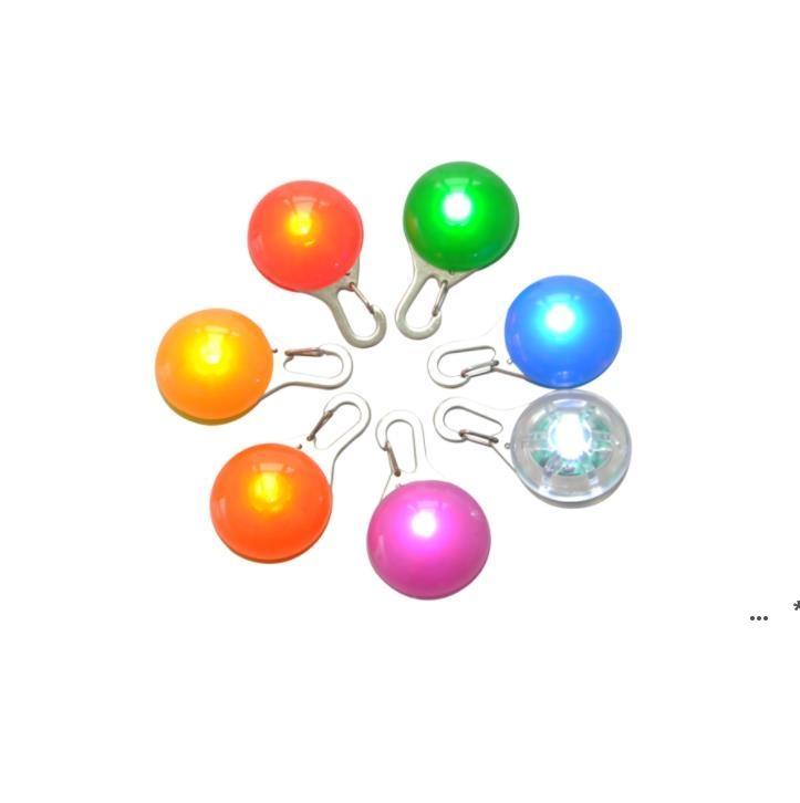 متعدد الألوان الصمام الكلب الحيوانات الأليفة قلادة ضوء ملون وامض مضيئة طوق قلادة مستلزمات الحيوانات الأليفة توهج السلامة علامة CCB8817