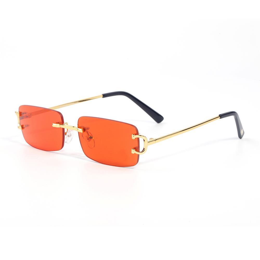 Kırmızı tasarımcı güneş gözlüğü erkek ve kadın bufalo boynuz gözlük açık gölge pc çerçeve moda klasik bayan gözlük ile orijinal kutusu lunettes de soleil