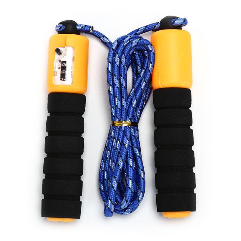 3meter ajustável exercício de crossfit de velocidade rápido contagem de salto pular corda saltar fio calorias ginásio esportes acessórios de fitness