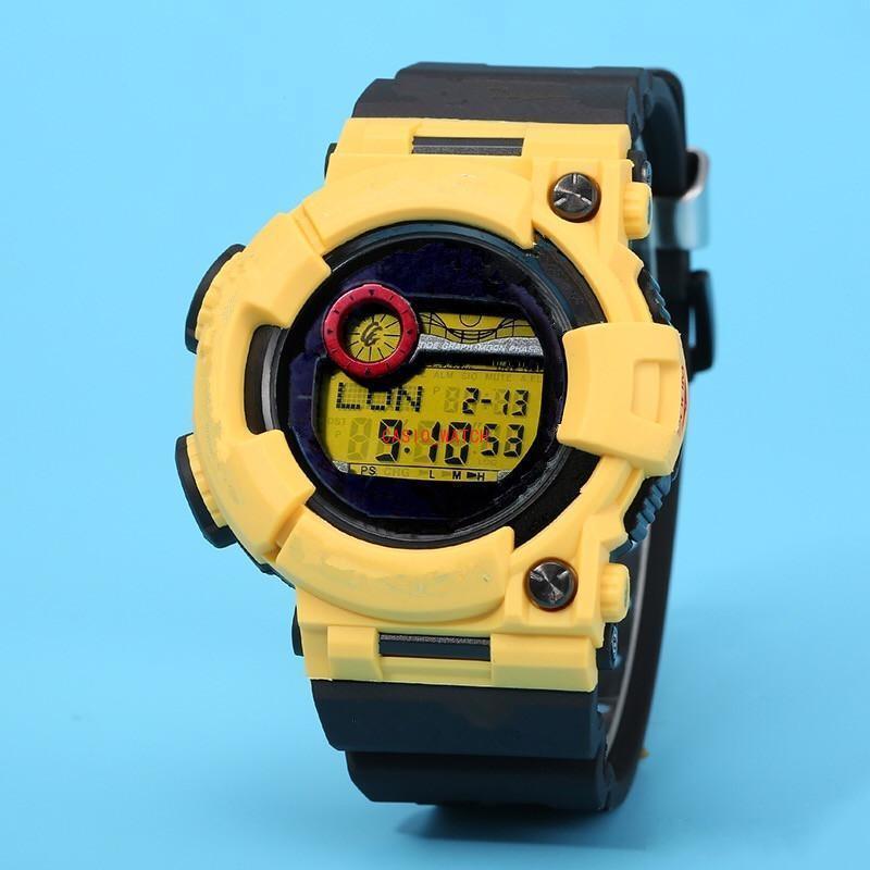 2021 Мужские спортивные кварцевые часы GWF-1000 Светодиодные водонепроницаемые цифровые часы Все функции могут быть эксплуатированы12