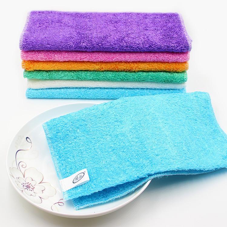 Reinigungstücher Korea Faser 100 sauberes Handtuch Erste Generation Geschirrtuch mit Öl verdickten Wasser Absorbierende Küche Entfetten Lappen 100