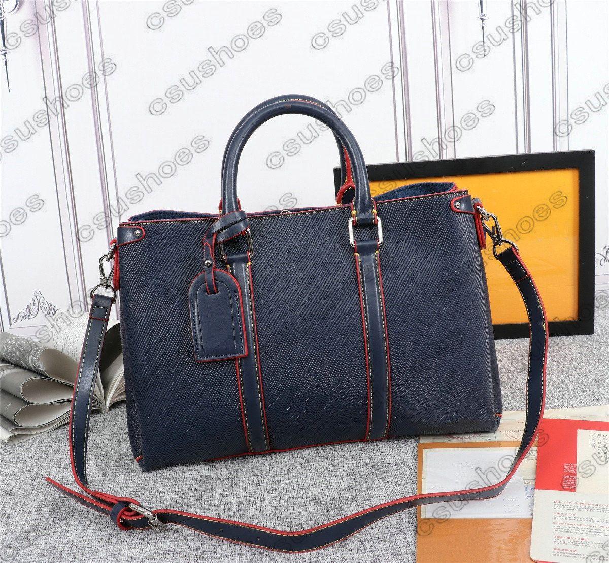 Borsa spalla lussurys womens open m44815 RJBBD Messenger Bags BB Canvas Business Canvas-Brown Borsa Brown Designer Designer TOTE M44816 MANO CSFF