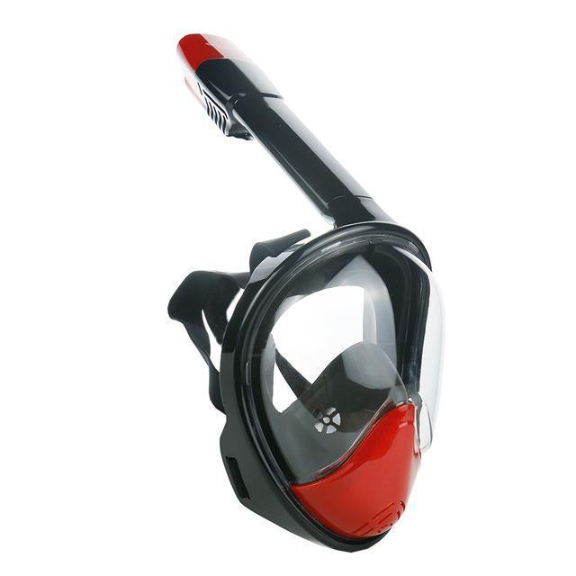 Cara completa submarina antiiezca máscara de buceo snorkel natación entrenamiento de buceo de buceo máscaras con cámara para la pesca lanza sufriendo nadar