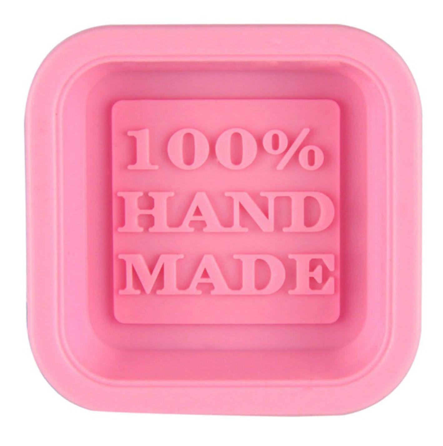 100٪ اليدوية الصابون قوالب diy ساحة سيليكون قوالب الخبز العفن الحرفية الفن صنع أداة ديي كعكة العفن