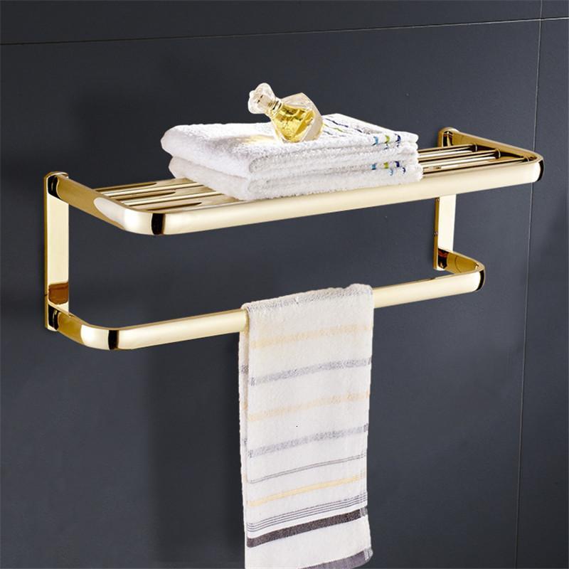 2021 Новая ванная стойка для ванной Золотой фиксированный держатель Антикварная ванна шестерна железнодорожника Total Brass Настенный полотенце вешалка 3VTQ