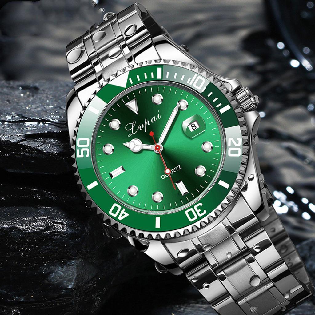 2021 лучший бренд LVPAI роскошные мужские часы 30 м водонепроницаемый дата часы мужские спортивные часы мужские кварцевые наручные часы Relogio Masculino