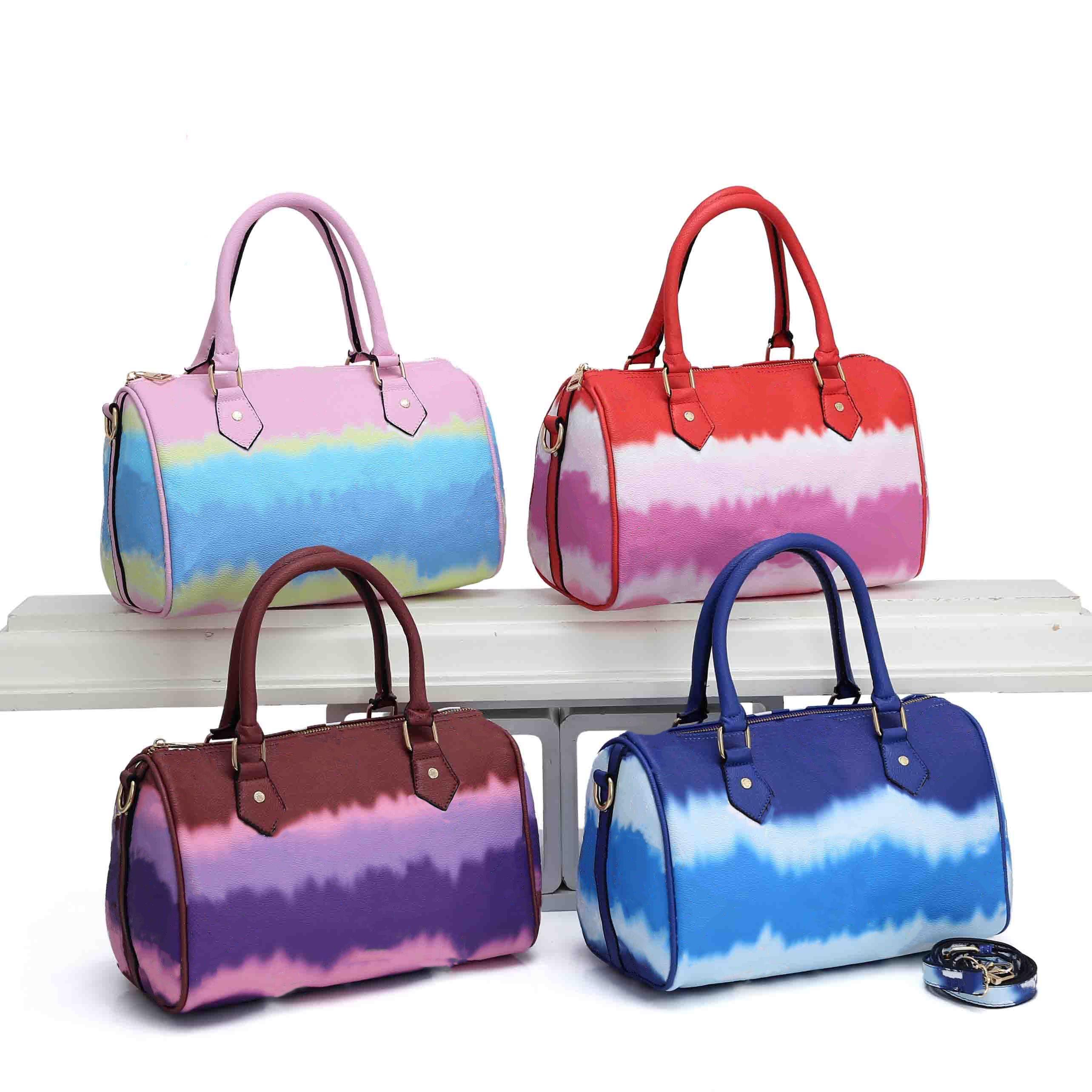 العلامة التجارية bandouliere speedy 30 حمل النساء المصممين الفاخرة حقائب جلدية السيدات crossbody الكتف حقيبة وسادة أكياس محفظة 30 سنتيمتر