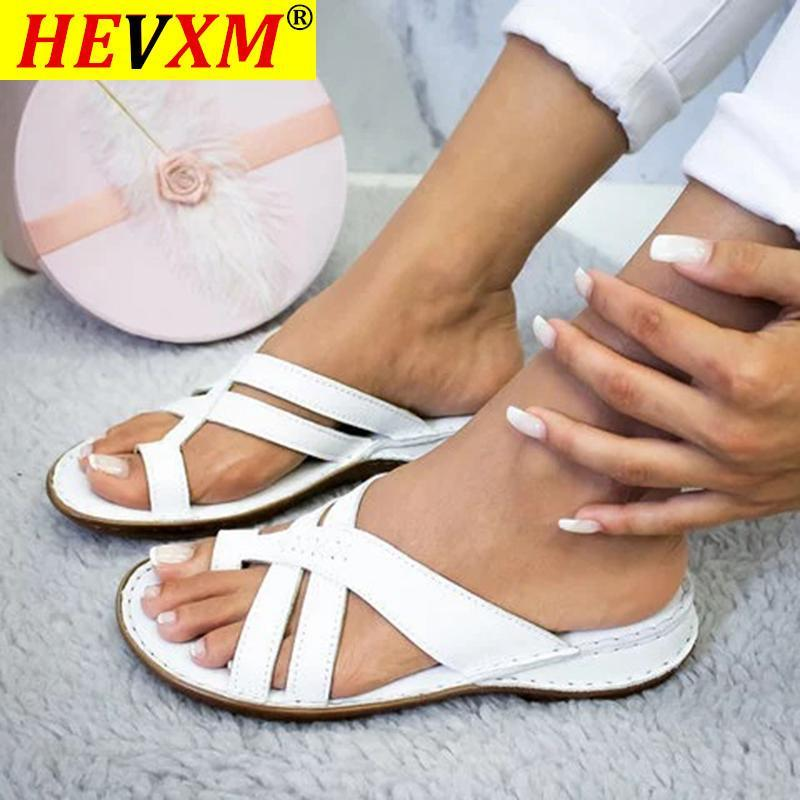 Women Sandals For Women Beach Shoes Low Heels Wedges Shoes Gladiator 2021 Summer Sandals