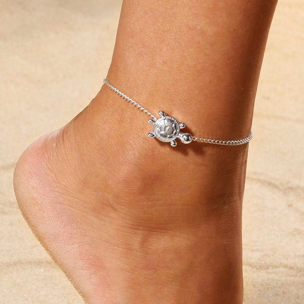 Горячие продажи простые моды изысканные маленькие черепахи ноги украшения браслета