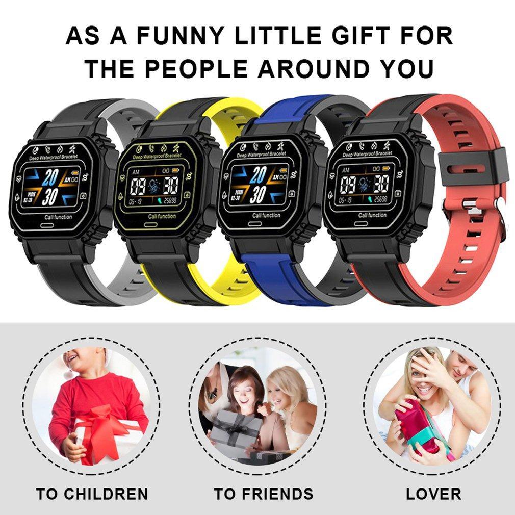 B2 Akıllı İzle Erkekler Lady Kadın Bantları Spor Spor Izci Kalp Hızı Kan Basıncı Monitörü Bluetooth Bilezikler Su Geçirmez