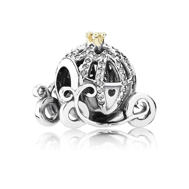 s925 Sterling Silver bead Fits Pandora Bracelet for jewelry make Dreamcatc Crystal Dangle Beads Charms For European Snake Chain Fashion 2021