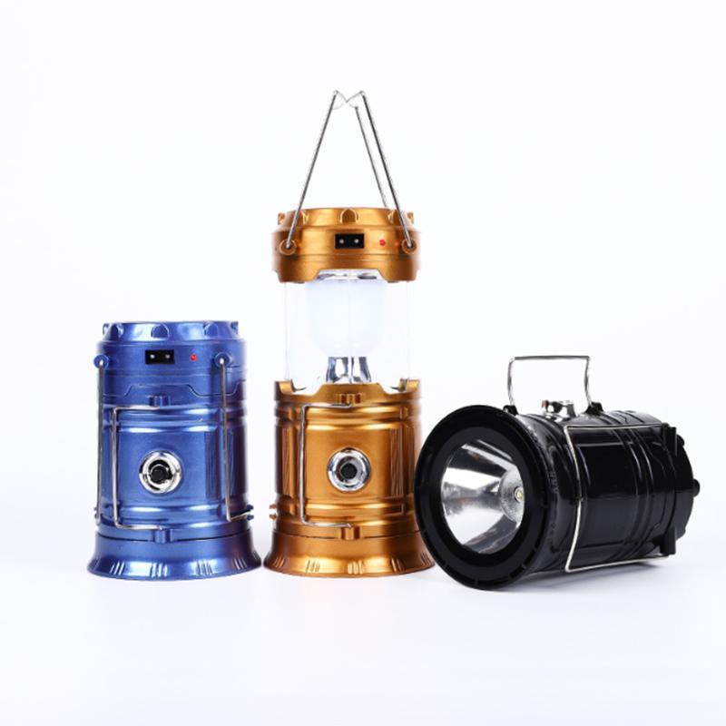 COB LED mini lumineux portable lanterne de camping lampe de camping lampe de camping extérieure imperméable usb alimenté par l'UE US