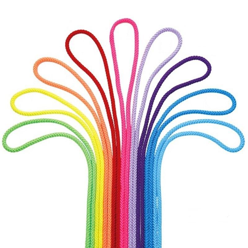 Renkli Ritmik Jimnastik Halat 1 ADET 3 M Kadın Gymnast Halat Ginastica Sanat Eğitim ve Kızlar Rekabet Jimnastik Sanatı