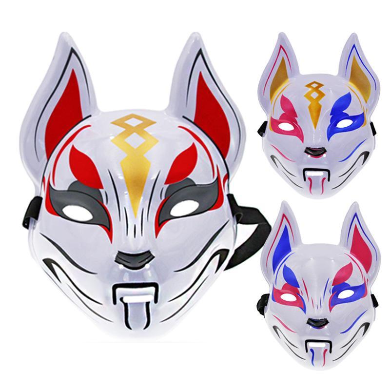 3 Color El Fuerte Fuerte Fort Night Mask Cosplay Props Sky Fox Fox Mask Sky Fox Christmas Party Dance Road