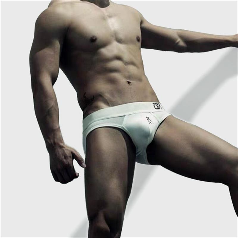 Мода сексуальное мужское нижнее белье трусики дышащие хлопковые трусы Cuecas Calzoncillos Hombre Slip Gay мужские трусы