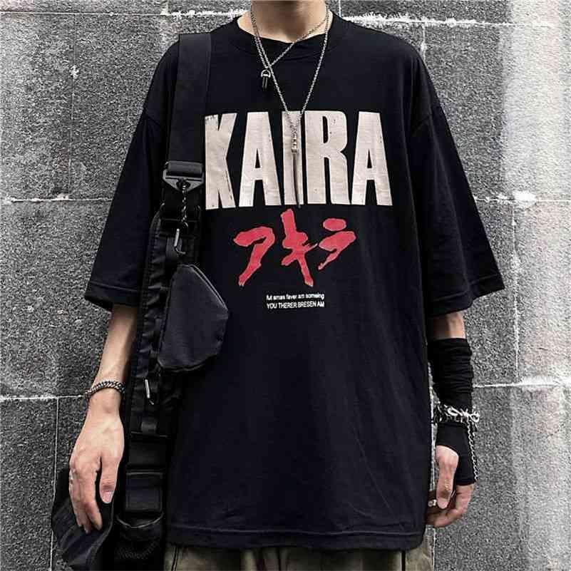 Venta al por mayor Tshirt Impresión de manga corta Mujeres Hombres causal Fashion Fashion Harajuku T Shirt Tops de gran tamaño Camisas Verano 210615