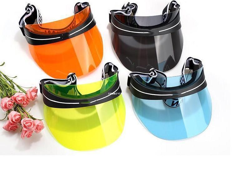 Tasarımcı Büyük Çocuklar Sunhats Yaz Erkek Kız Mektubu Elastik PC Visors Yetişkin Sprot Şapkalar Ayarlanabilir Açık Güneş Şapkaları A4849
