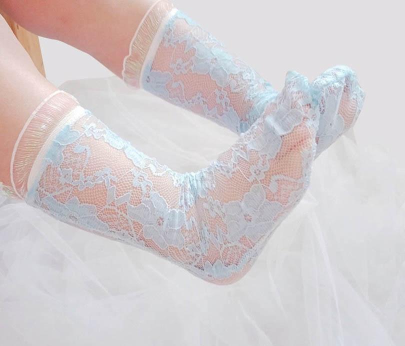 طفل الجوارب الفتيات الجوارب الدانتيل طويل متماسكة الركبة الجوارب عالية الصيف الاطفال الأحذية ملابس الطفل طفل ارتداء الفتيات الملحقات B3990