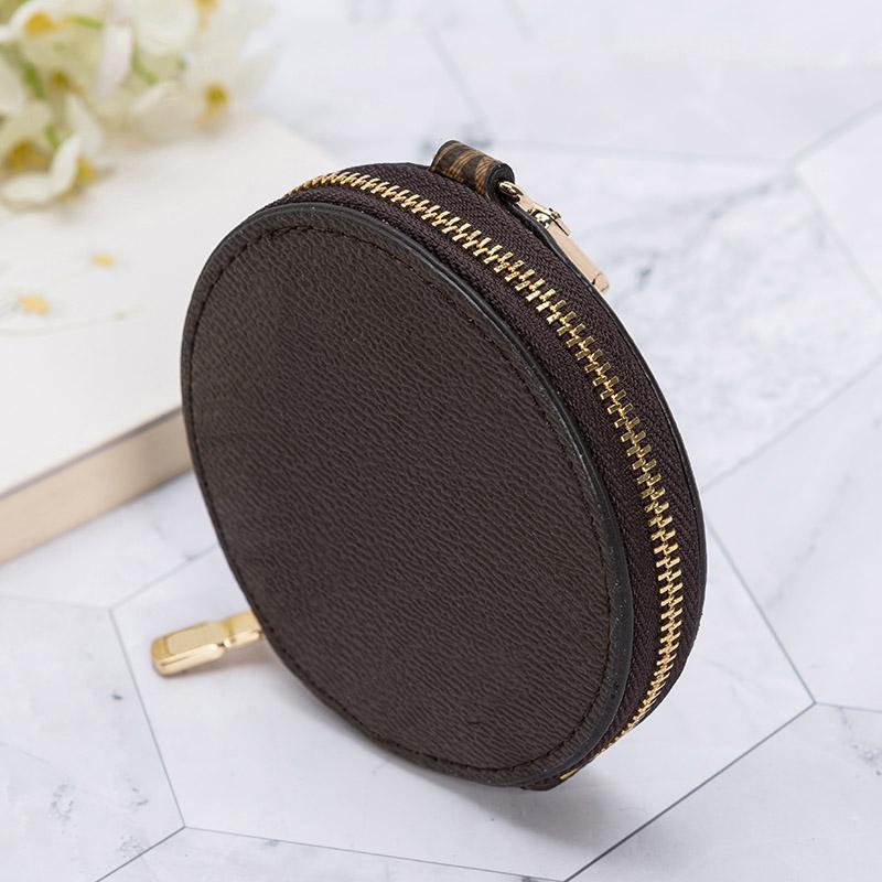 Frauen Crossbody Geldbörsen Lady Tote Handtaschen Münze Geldbörse One Artikel Echtes Leder Material Edelstahl Reißverschluss Mode Dekoration 9 * 2 Taschen