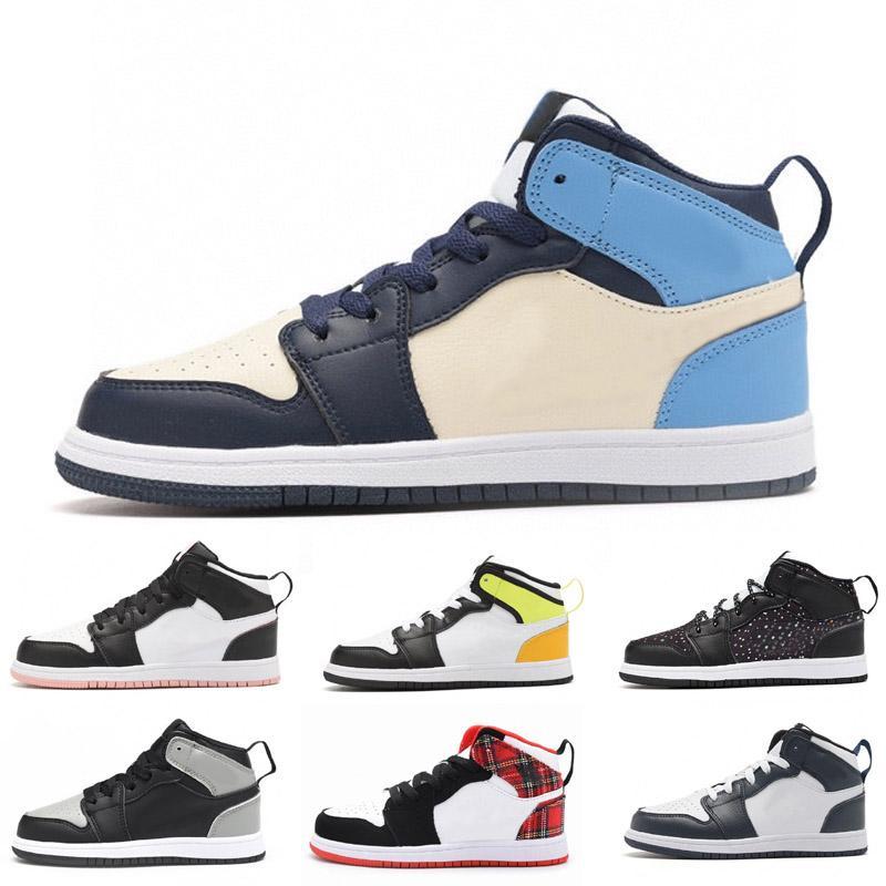2021 Mid Royal Basket Bambino Boy Girl Girl Kid Youth Sports Scarpe Sneaker Size EUR26-35