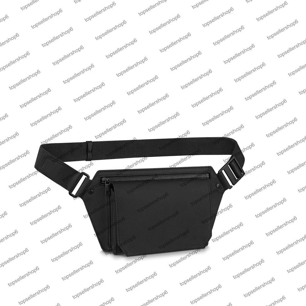 M57081 slingbag الرجال مصمم حقيبة عبر الجسم الأصلي العجل الجلود الكتفينج محفظة رسول إغلاق المغناطيسي حزمة الخصر