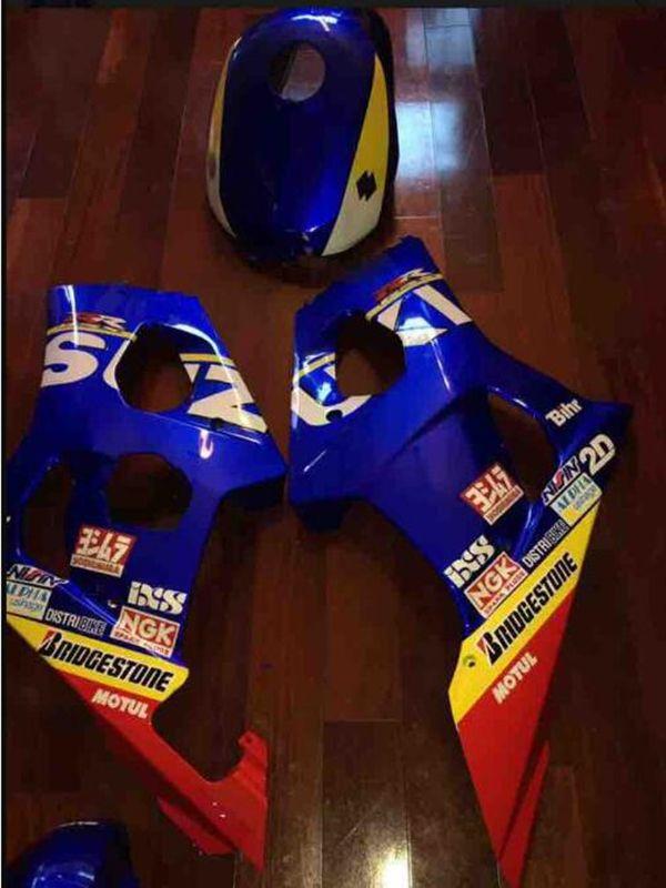 3 gift new For SUZUKI ABS Motorcycle Fairing Kit Bodywork Black TANK00