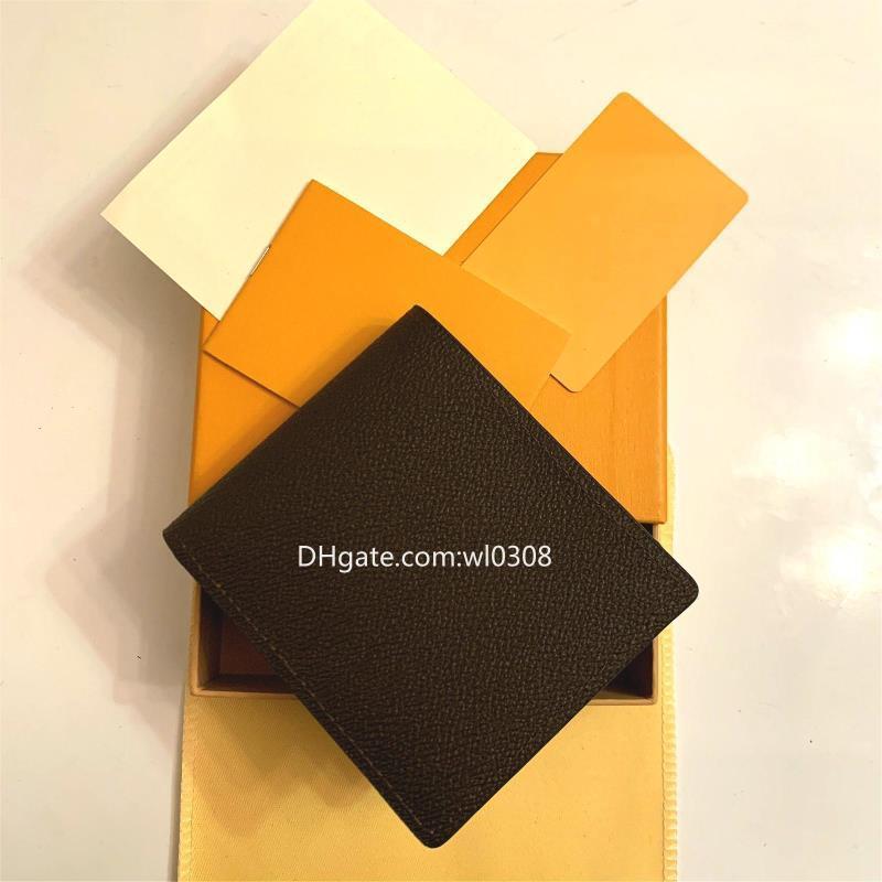 Caja VNSA Mail Qualit Style Air High-End Paris Mens Designer Wallet G Designer con las mujeres Animal S Carteras LWAllet Top Free High Plaid W LCDA