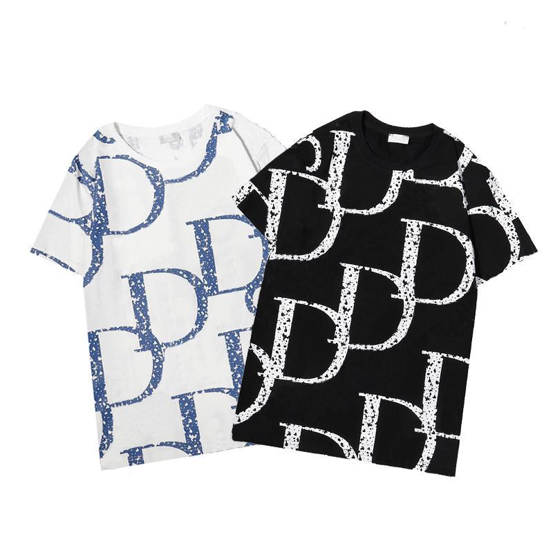 2021 남성 T 셔츠 패션 디자이너 남자 s 의류 검은 흰색 티셔츠 짧은 소매 여자 캐주얼 힙합 streetwear tshirts 아시아 크기 m-xxxl