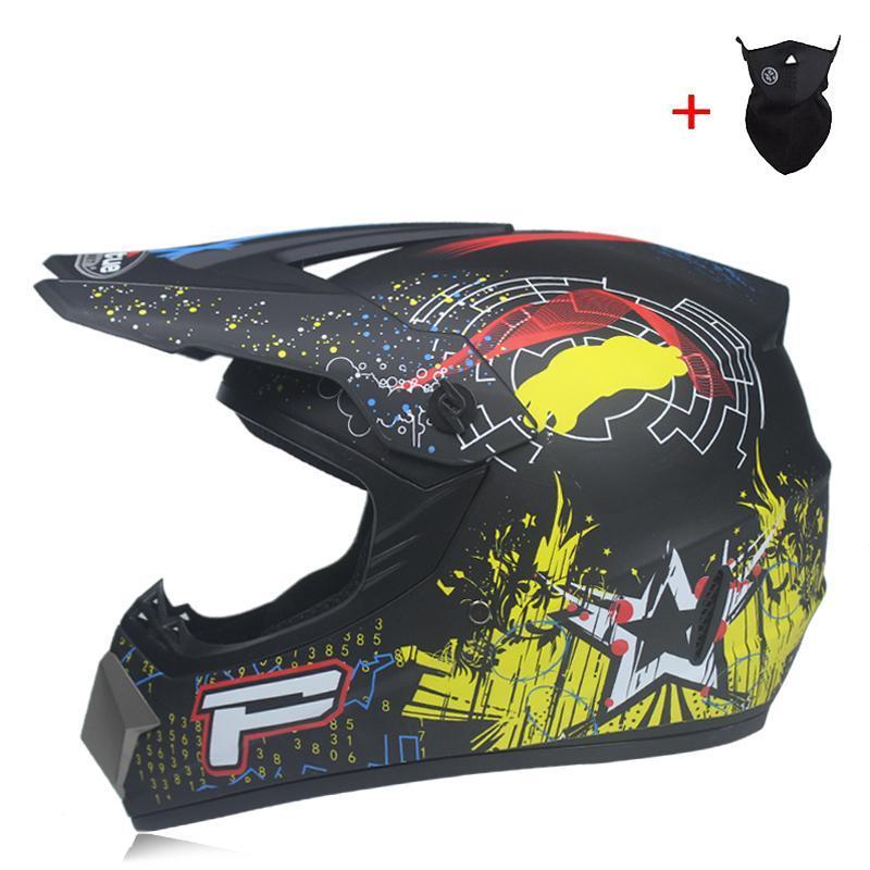 Cascos de motocicletas Motocross Motocicletas Casco Casco Downly Bike Protective Engranaje Cross-Country Tipo Material ABS Casque Moto