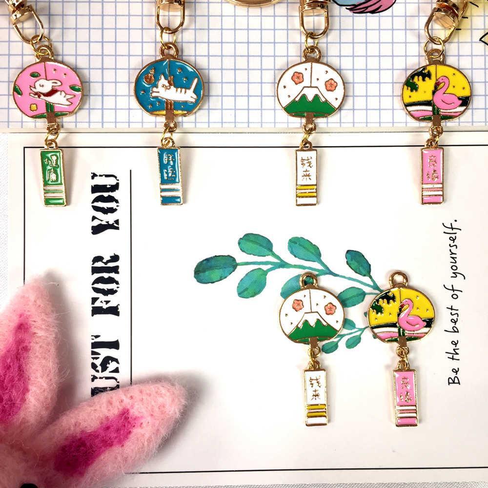 Japonês Nice Dinheiro de Saúde do Desenhos Animados Lucky Bunny Sakura TAS Hanger Luxury Keychain