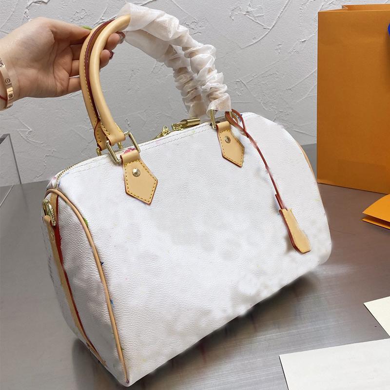Womens Tote Handtasche Hohe Qualität Crupsbody Handtasche Reise Duffle Gepäcktasche Damen Klassische Handtasche Mode Kissen Handtaschen Freies Verschiffen