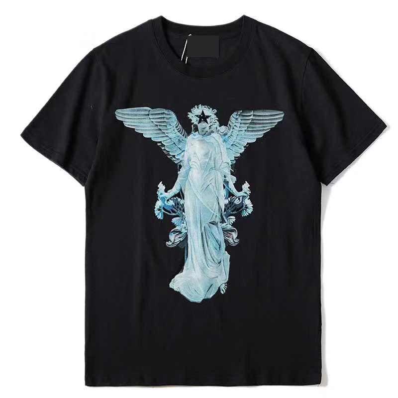 جديد الصيف الرجال النساء القمصان مع إلكتروني مطبوعة عارضة رجل تي شيرت أعلى جودة الرجال الأزياء تيز شعبية الملابس S-XL G
