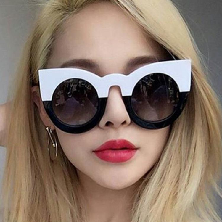 Nuova moda vendita calda retrò occhiali da sole gatto occhio occhiali da sole uomini e donne personalità occhiali da sole occhiali da sole vetri spedizione gratuita