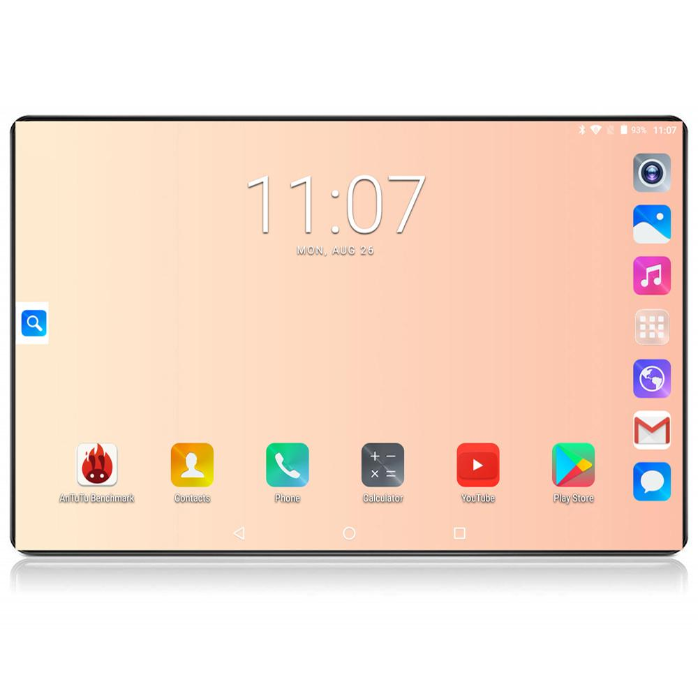 2020 Google Tablet 10 inç 6 GB RAM 128 GB ROM Octa Çekirdek 1280x800 IPS 8.0MP Android 8.0 4G FDD LTE WIFI GPS Tablet 10.1
