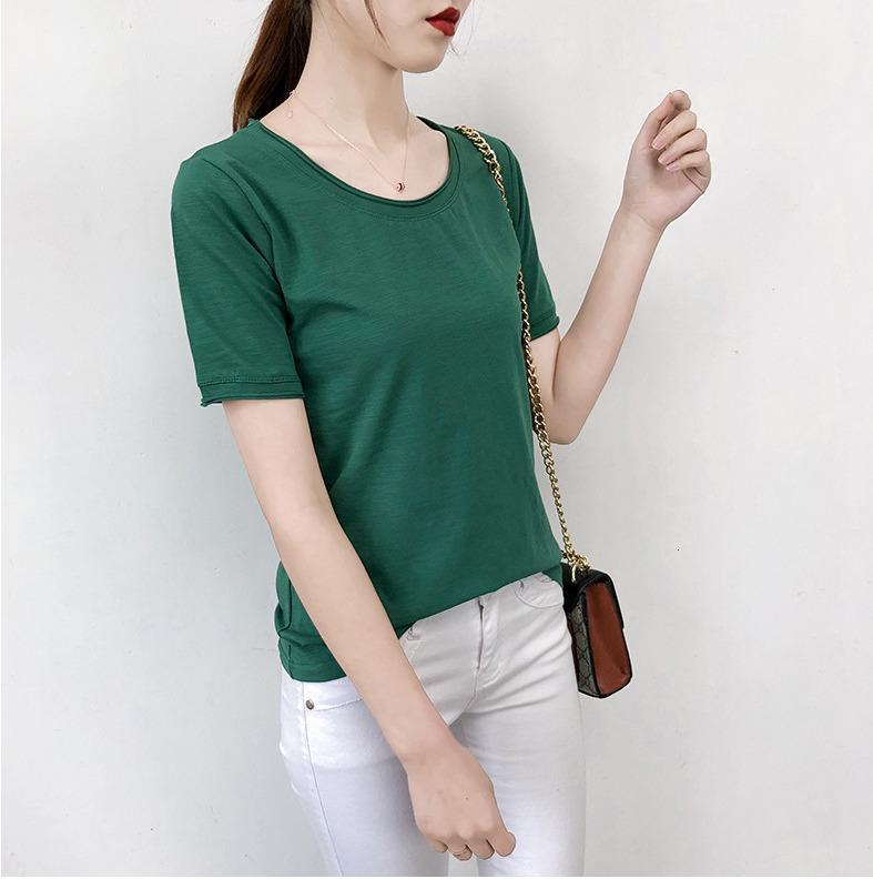 T-shirt beyaz ms ile kısa kollu yuvarlak yakalı çizgisiz üst ga pzcf render