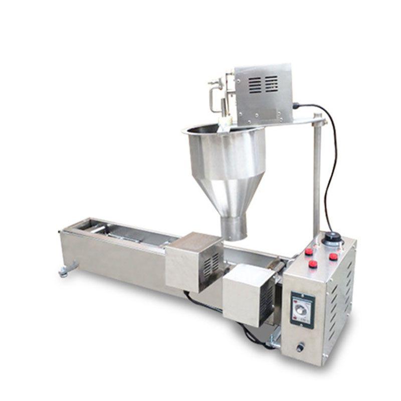 Mutfak Aletleri için Yüksek Verimli Çörek Makinesi Ticari Pişirme Donut Makinesi Satışa Donut Yapmak İçin