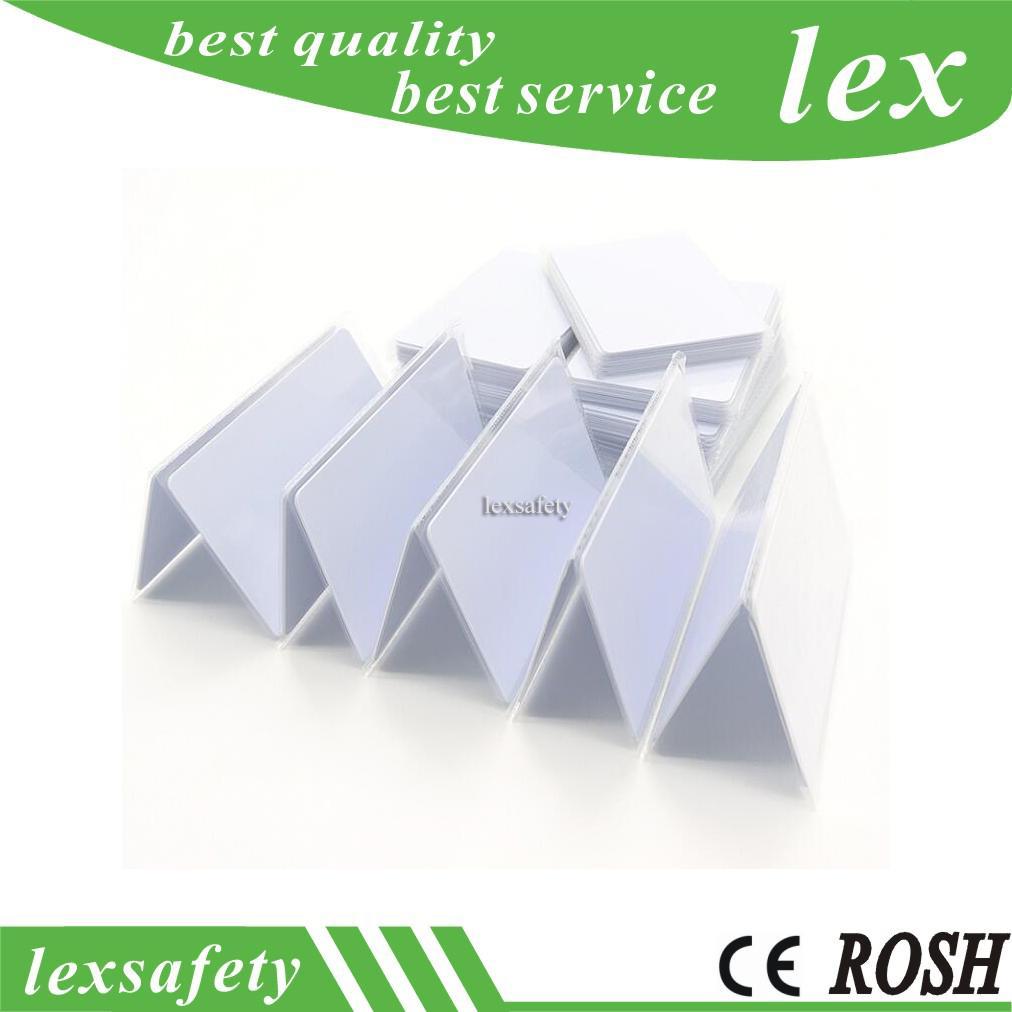 100pcs / lot Personnalisé F08 IC Cartes à puce de puce RFID Compatible S50 Card sans contact