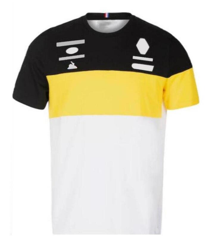 Equipement de course d'été costume Col à col rond T-shirt à manches courtes en polyester Jersey de moto à séchage rapide, costume rapide, jack de séchage rapide