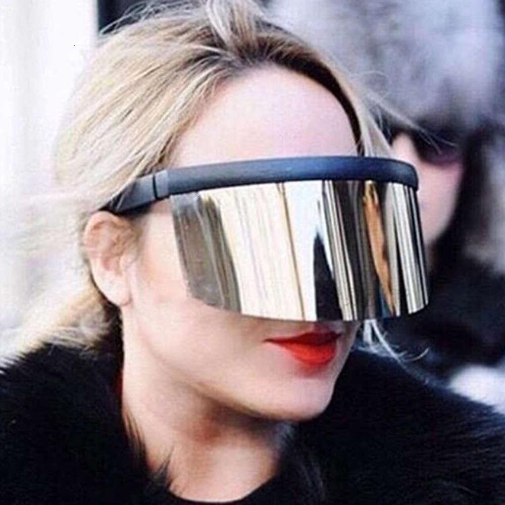 Cappello, occhiali da sole, obiettivi integrati grandi, sbirciare all'aperto, schiumatura, maschera anti ultravioletta, 4143 occhiali da sole