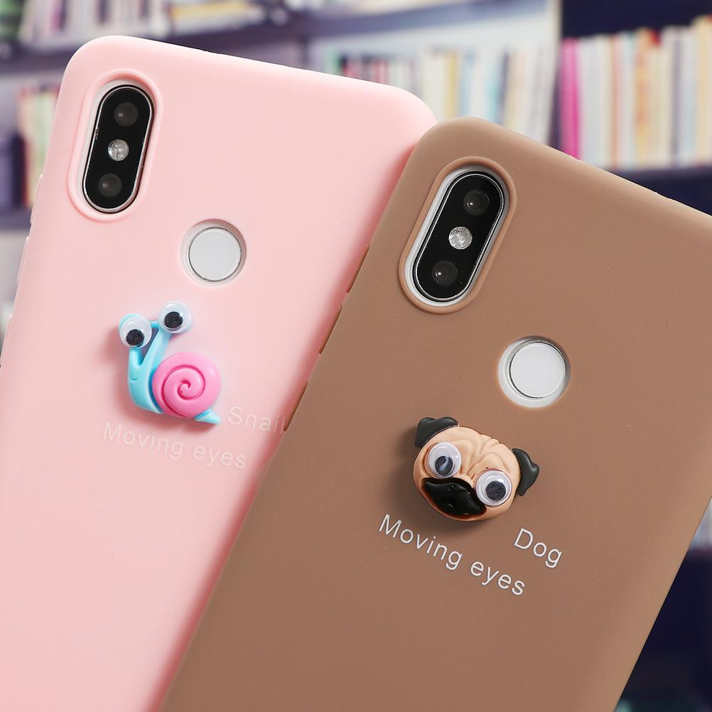 Sevimli 3d Hayvan Telefon Kılıfı Için Xiaomi Redmi Not 8 T 8 9 9 S 7 6 5 Pro Mi Not 10 CC9 9 9 T Pro 8 A3 A2 Lite 5x 6x Kapak Fundas