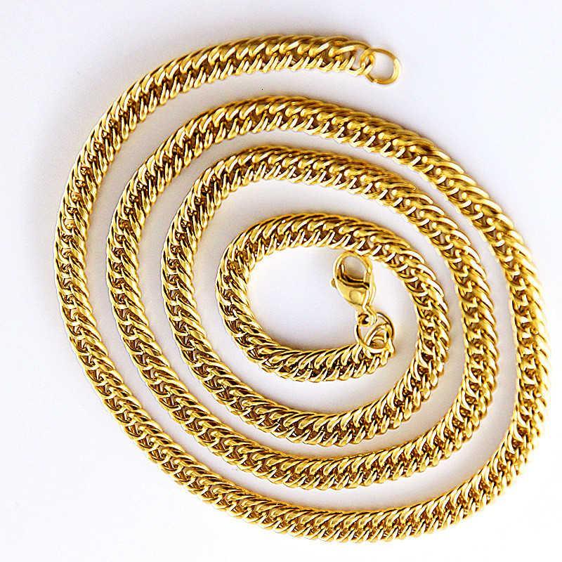 Tiktok Men's Gold Button, cadena de látigos, red femenina de la moda, voz roja y el mismo párrafo.