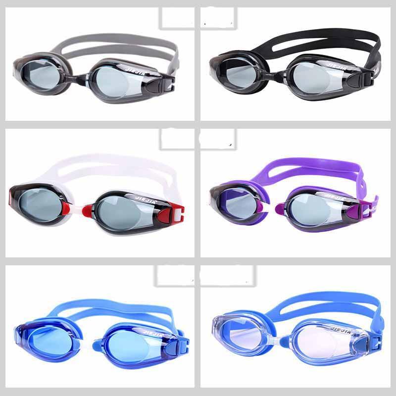2021 gafas de natación hombres mujeres gafas portátiles unisex adulto natación gafas marco piscina deporte gafas gafas espectáculos gafas impermeables