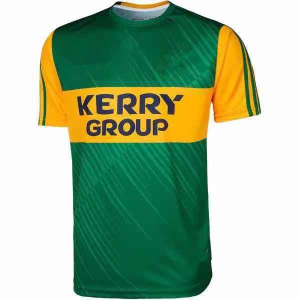 2021 İrlanda Kerry Rugby Eve Uzakta Erkek Jersey Boyut S - 5XL