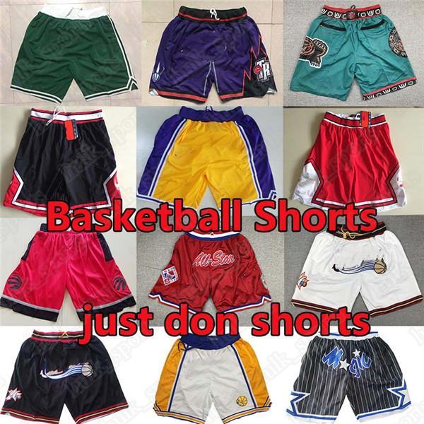 Ja Morant Rembeback Баскетбольные шорты просто делают Уэйд Крунтовые Картер Картер Mitchell Ness Pantalones de Baloncesto Баскетбол